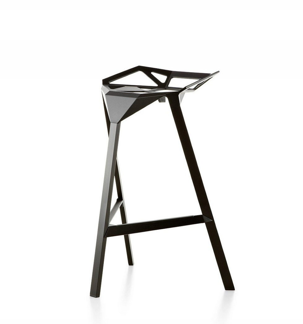 Three-dimensional chairs Stool_One 2