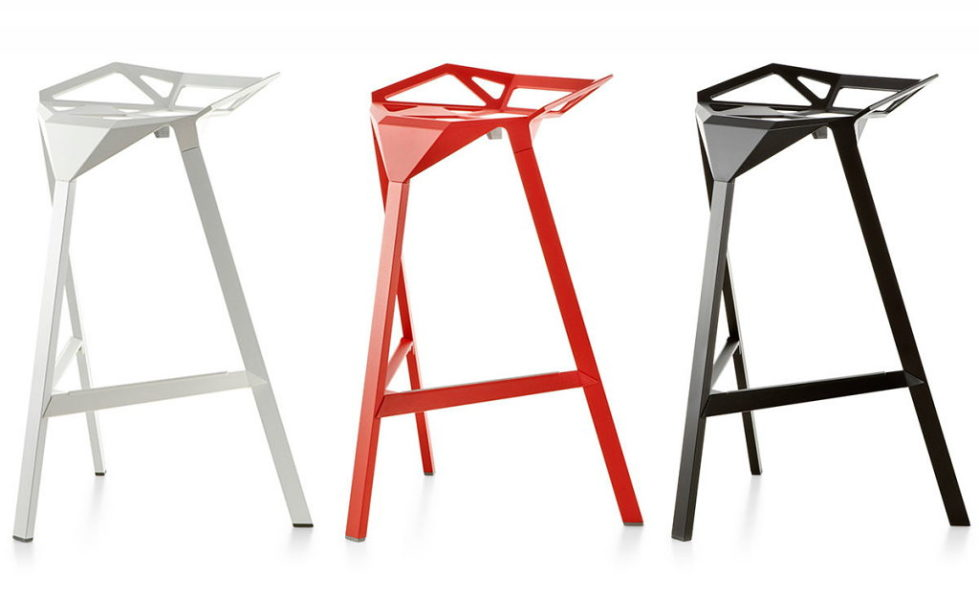 Three-dimensional chairs Stool_One 5