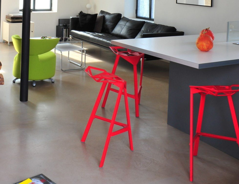 Three-dimensional chairs Stool_One 7