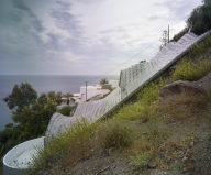 Unbelievable House On the Mountain Slope Overlooking Mediterranean Sea, Spain 4