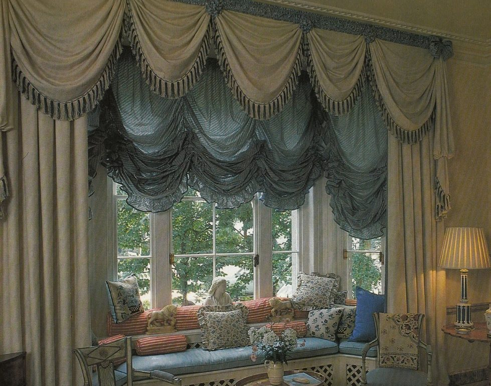 austrian curtains bedroom austrian curtains design ideas - Drapery Design Ideas