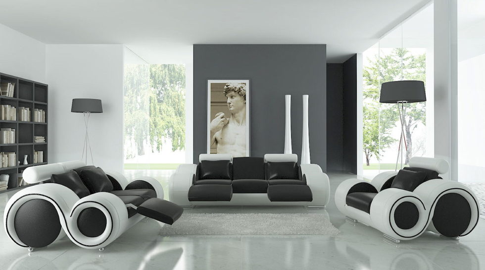 Dark shades for your living room interior Shades of gray for living room