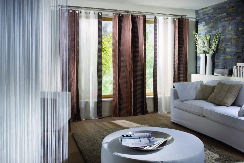 Home Decor Curtain Ideas Part - 47: Living Room Curtains Ideas 2016