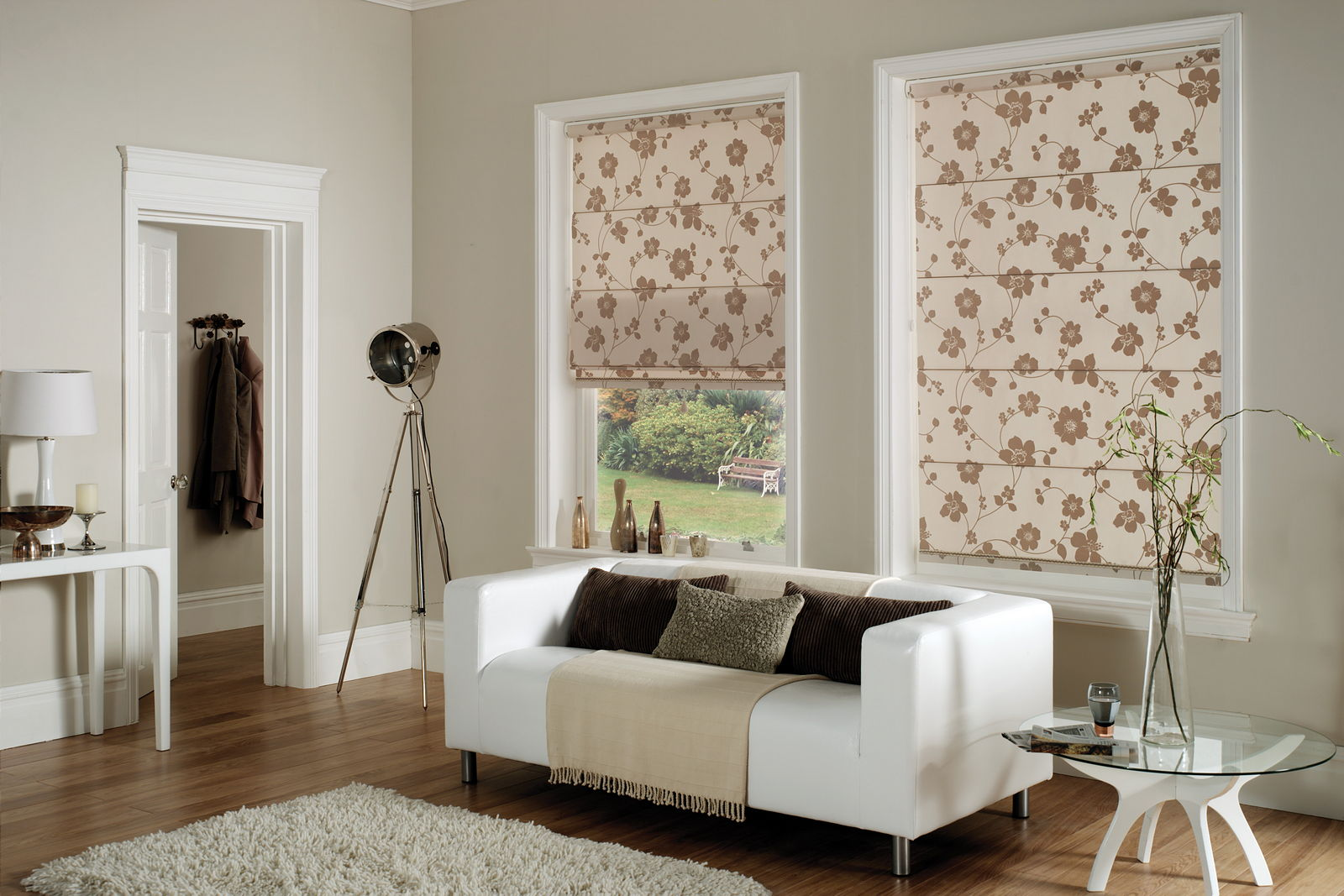 Amazing Living Room Curtains Part - 9: Living Room Curtains Roman Style 3