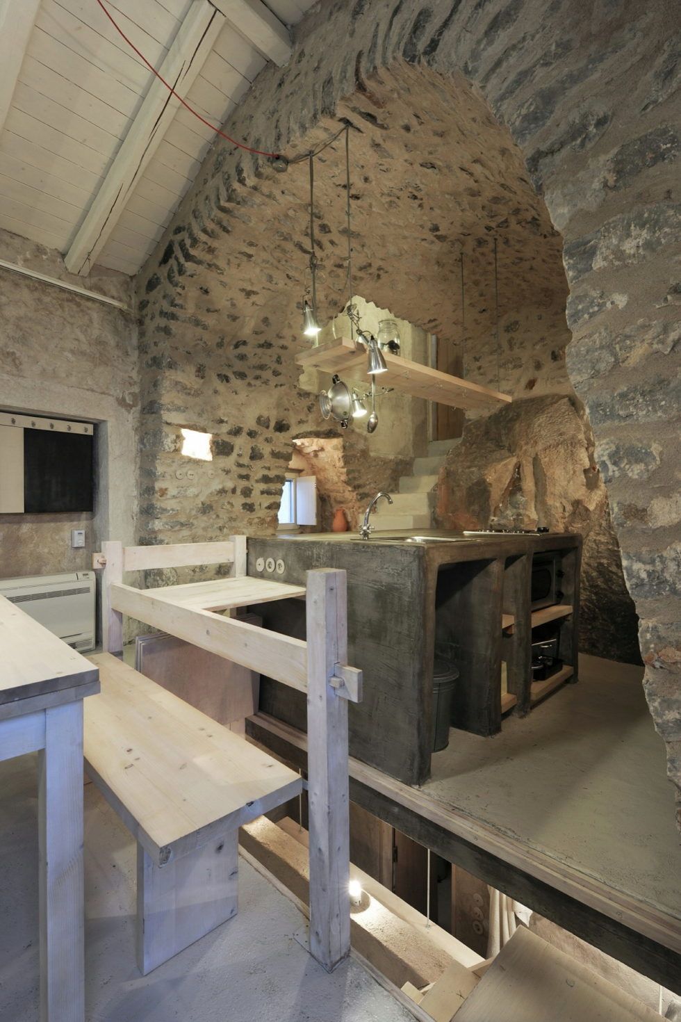 Mani Tower House In Greece From Z-level Studio 19