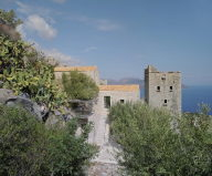 Mani Tower House In Greece From Z-level Studio 2