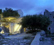 Mani Tower House In Greece From Z-level Studio 25