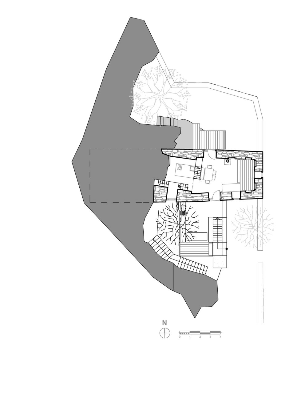 Mani Tower House In Greece From Z-level Studio Plan 3