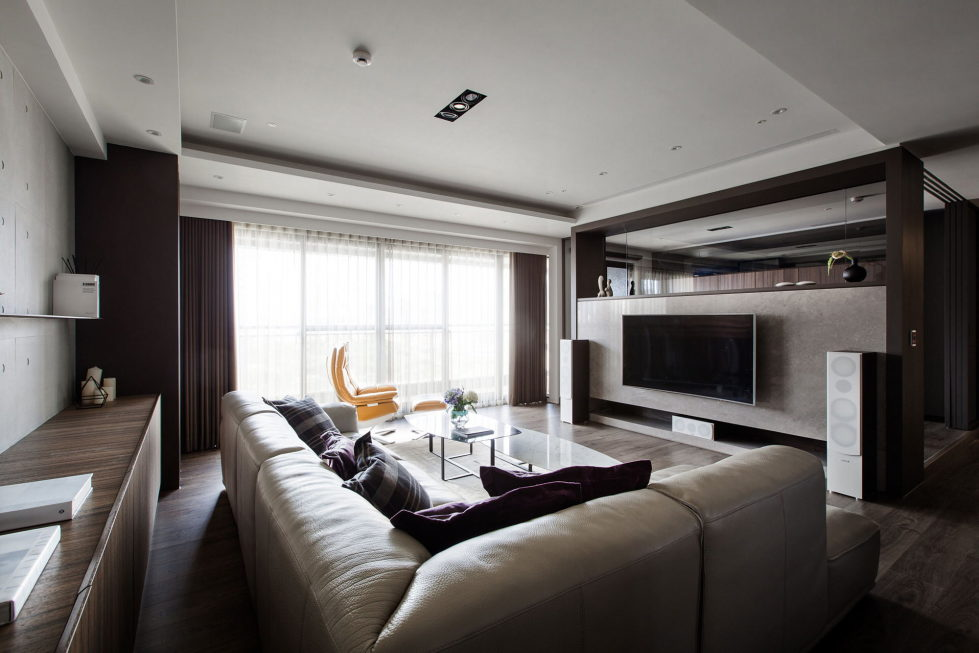 Modern Apartments In The Minimalism Style At Taiwan 1
