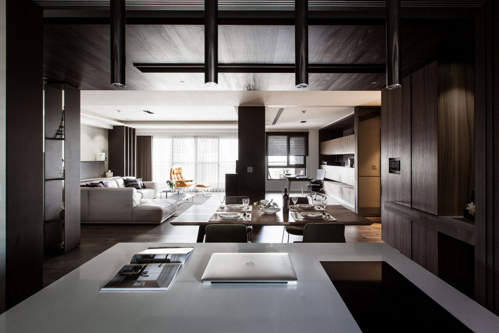 Modern Apartments In The Minimalism Style At Taiwan 13