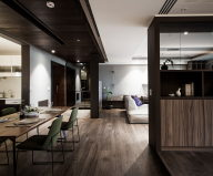 Modern Apartments In The Minimalism Style At Taiwan 14