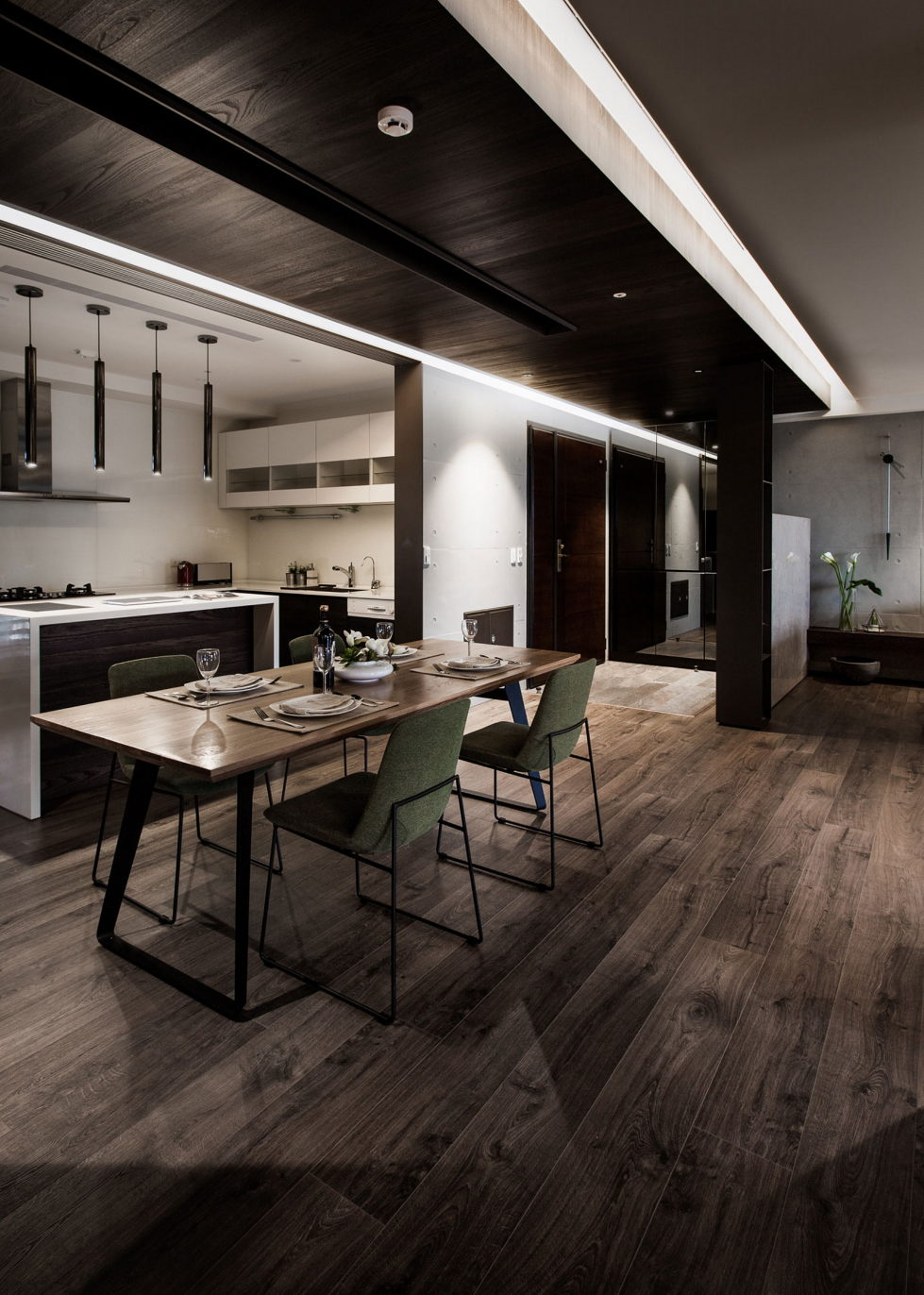 Modern Apartments In The Minimalism Style At Taiwan 15