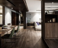 Modern Apartments In The Minimalism Style At Taiwan 16