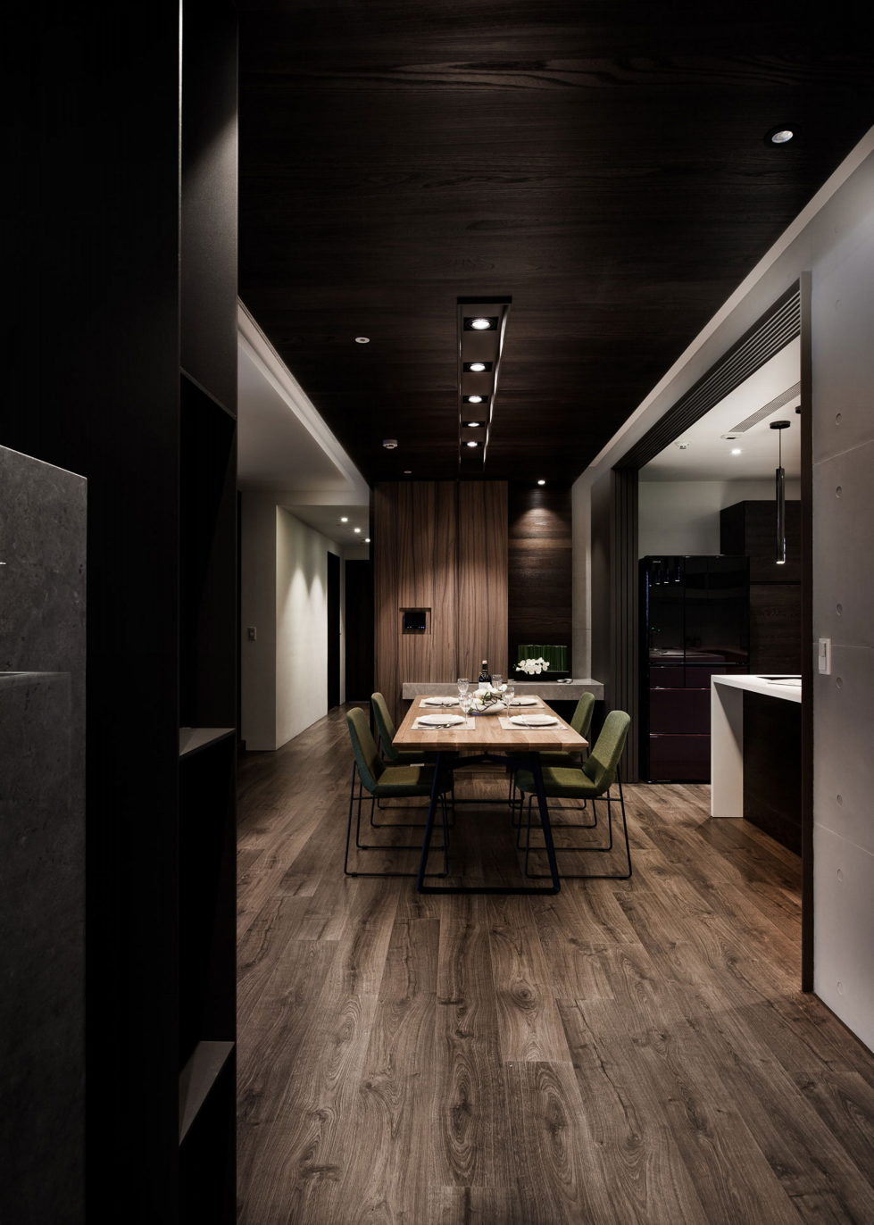 Modern Apartments In The Minimalism Style At Taiwan 17