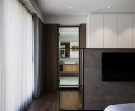 Modern Apartments In The Minimalism Style At Taiwan 22