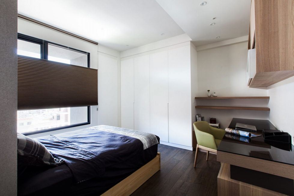 Modern Apartments In The Minimalism Style At Taiwan 25