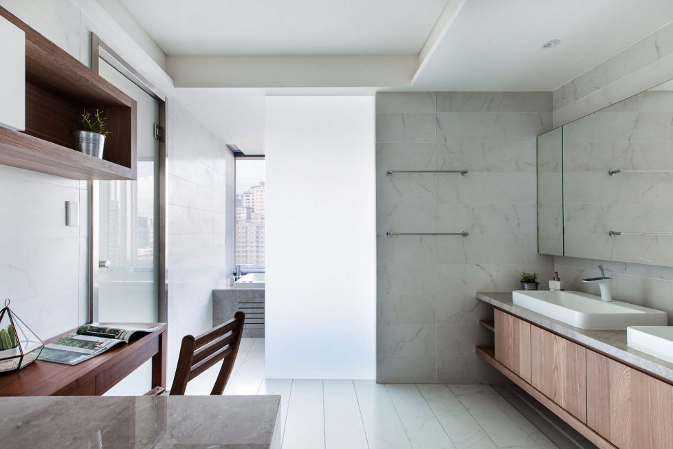 Modern Apartments In The Minimalism Style At Taiwan 29