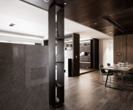 Modern Apartments In The Minimalism Style At Taiwan 3