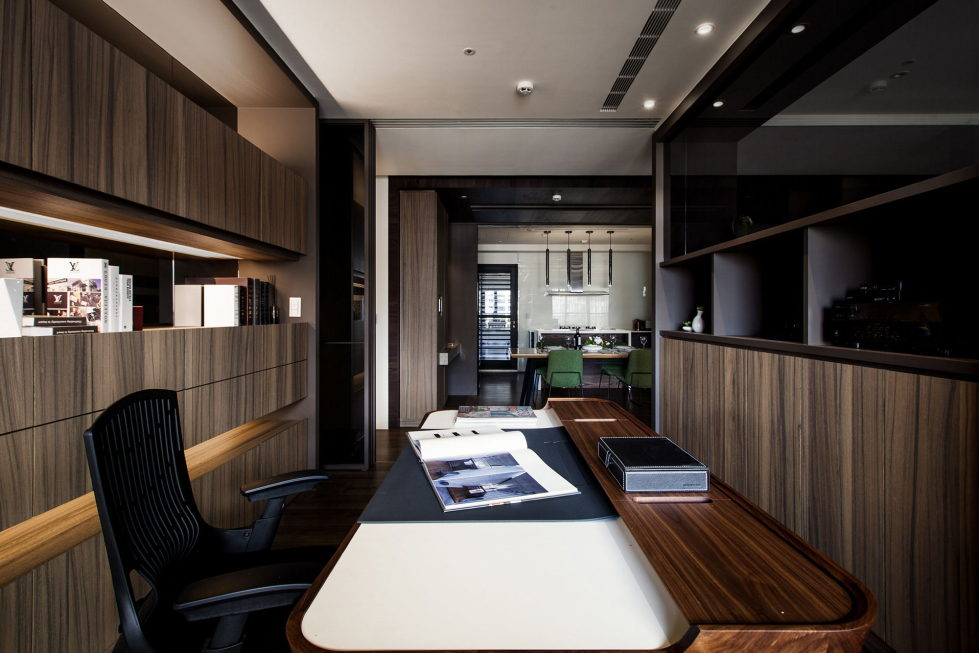 Modern Apartments In The Minimalism Style At Taiwan 34