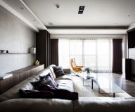 Modern Apartments In The Minimalism Style At Taiwan 4