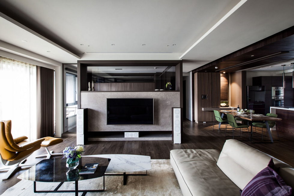 Modern Apartments In The Minimalism Style At Taiwan 5