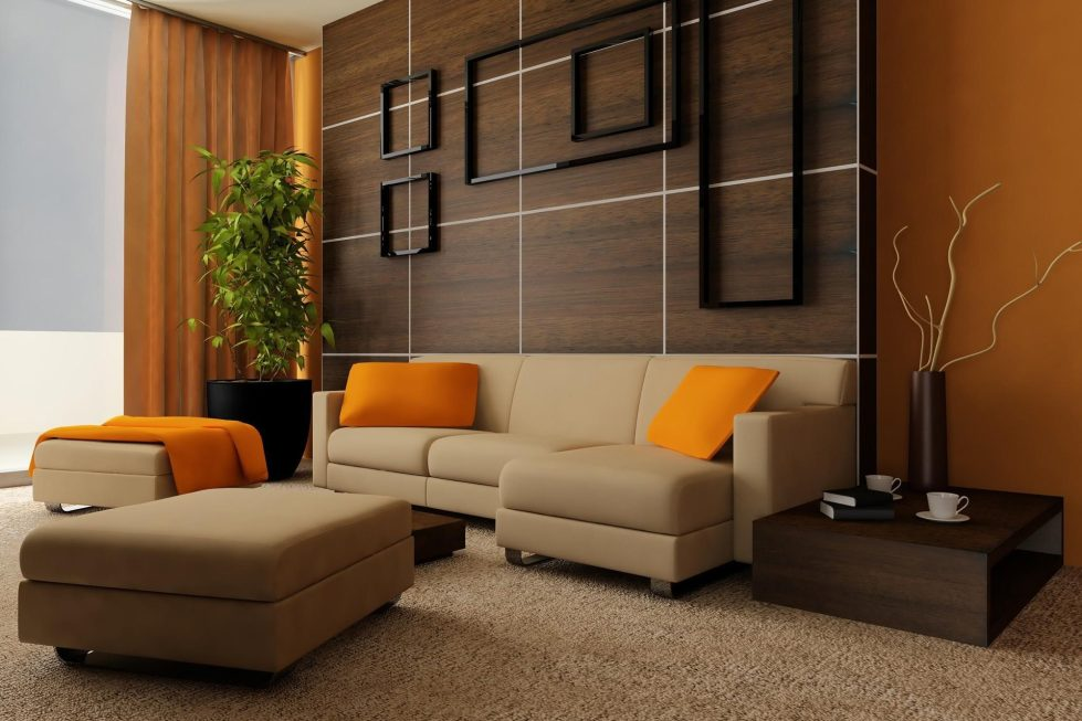 Modern Living Room Curtains living room curtains: the best photos of curtains` design
