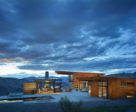 The Country House In The Picturesque Valley The Project Of Olson Kundig Studio 1