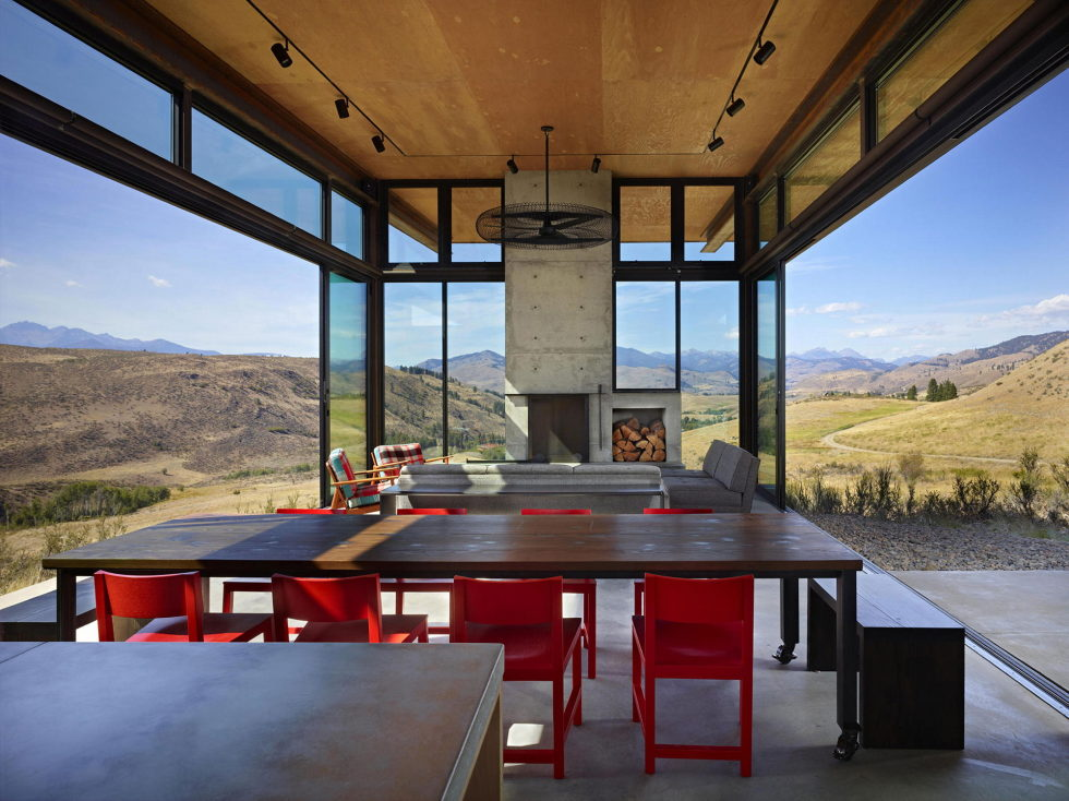 The Country House In The Picturesque Valley The Project Of Olson Kundig Studio 10