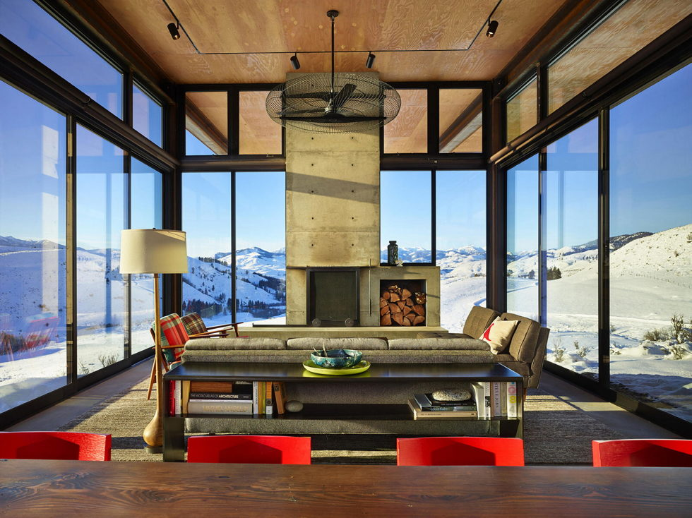 The Country House In The Picturesque Valley The Project Of Olson Kundig Studio 11