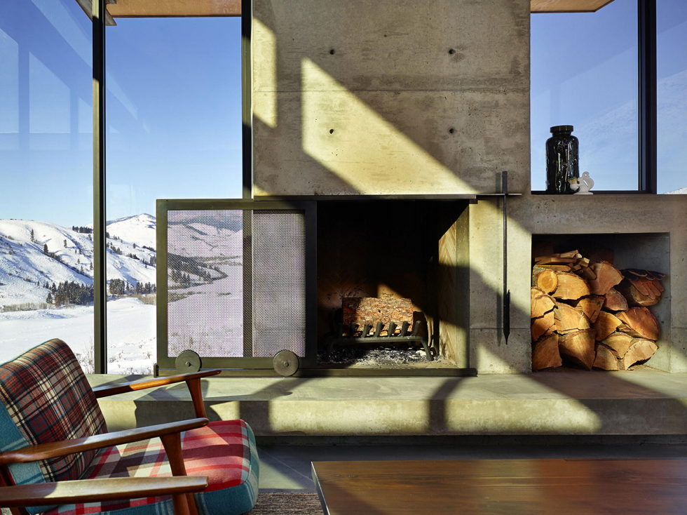 The Country House In The Picturesque Valley The Project Of Olson Kundig Studio 12
