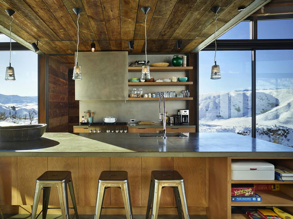 The Country House In The Picturesque Valley The Project Of Olson Kundig Studio 13