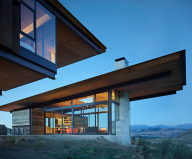 The Country House In The Picturesque Valley The Project Of Olson Kundig Studio 16