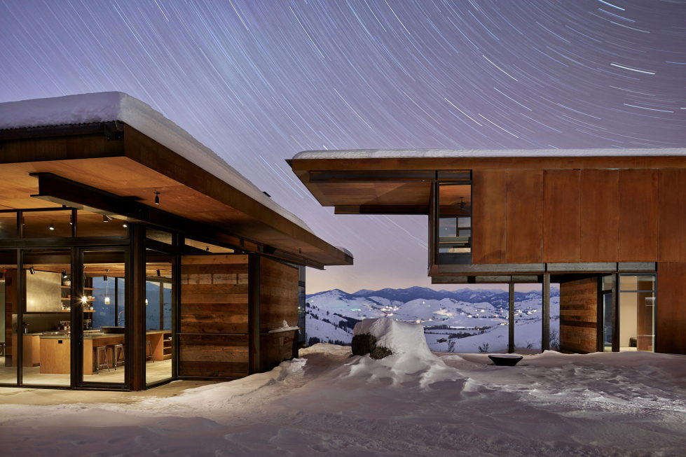 The Country House In The Picturesque Valley The Project Of Olson Kundig Studio 17
