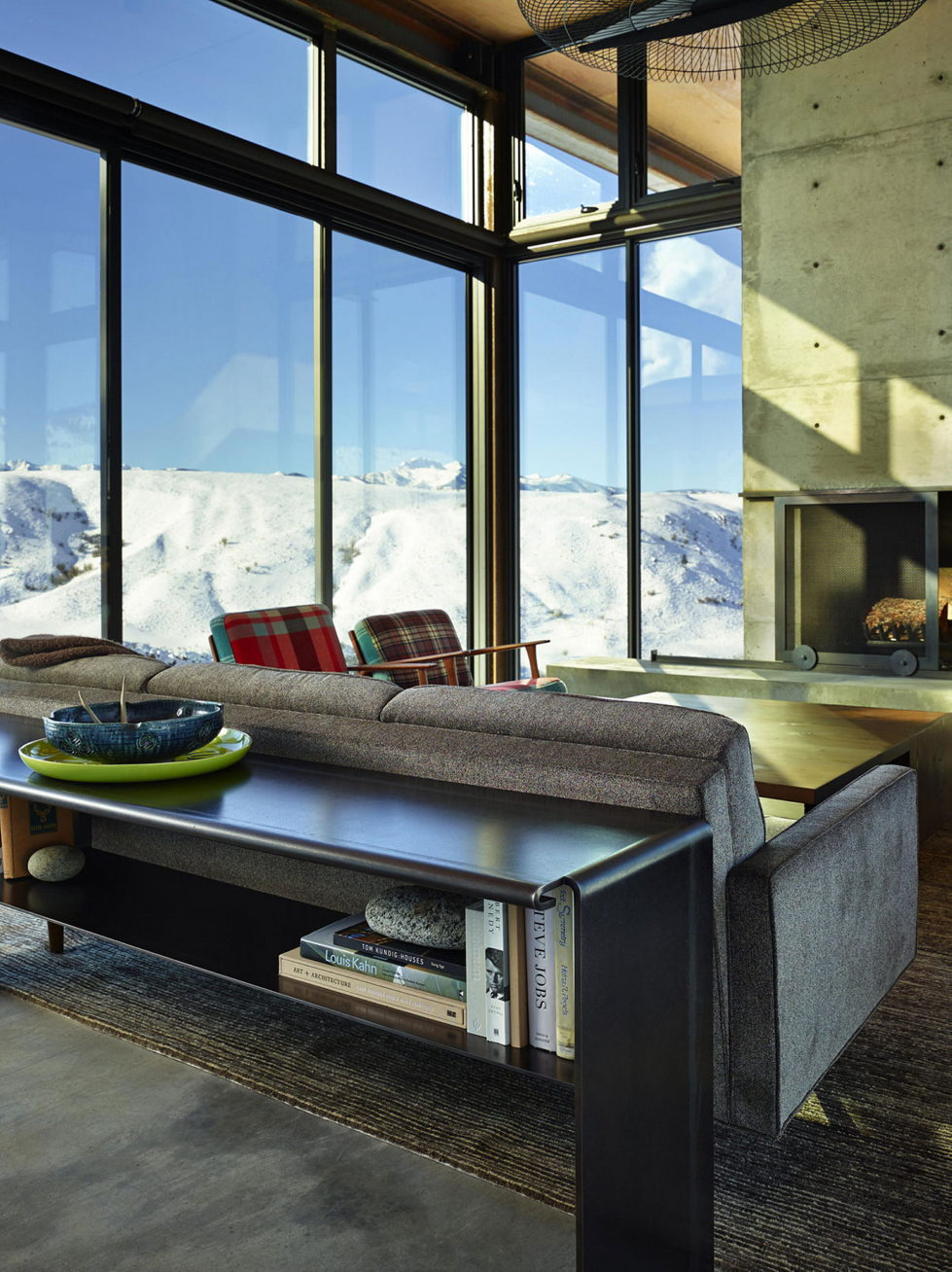 The Country House In The Picturesque Valley The Project Of Olson Kundig Studio 20