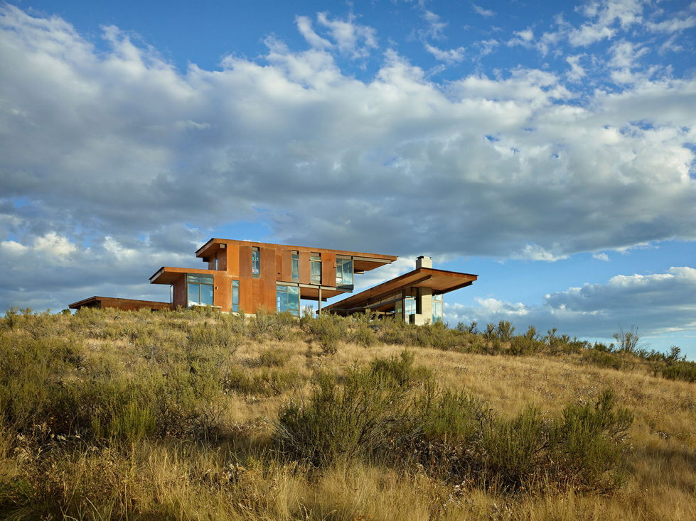 The Country House In The Picturesque Valley The Project Of Olson Kundig Studio 4