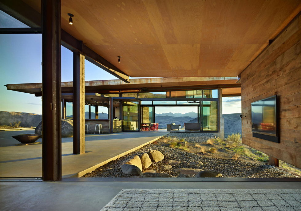 The Country House In The Picturesque Valley The Project Of Olson Kundig Studio 6