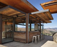 The Country House In The Picturesque Valley The Project Of Olson Kundig Studio 7