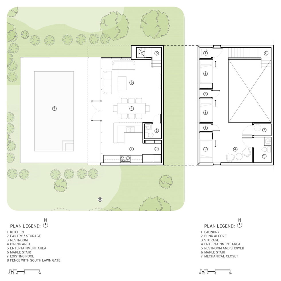 The Guest House With A Swimming Pool In Arizona Plan 1