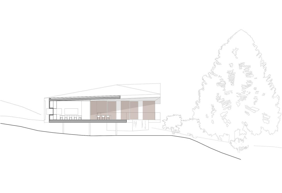The House Overlooking The Pacific Ocean In Australia The Teeland Architects Project section-2