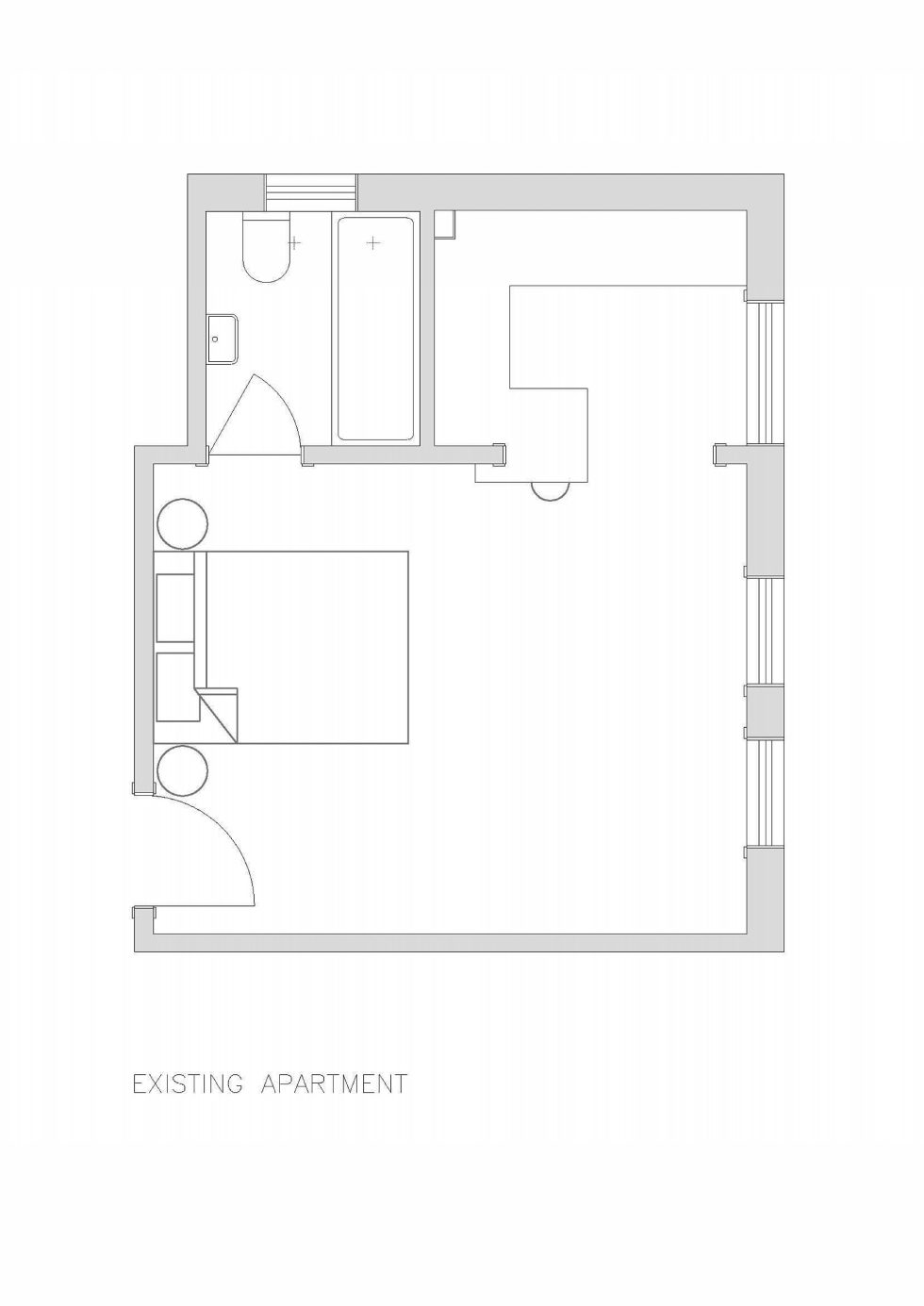 The Studio Of 27 Square Meters Plan 1