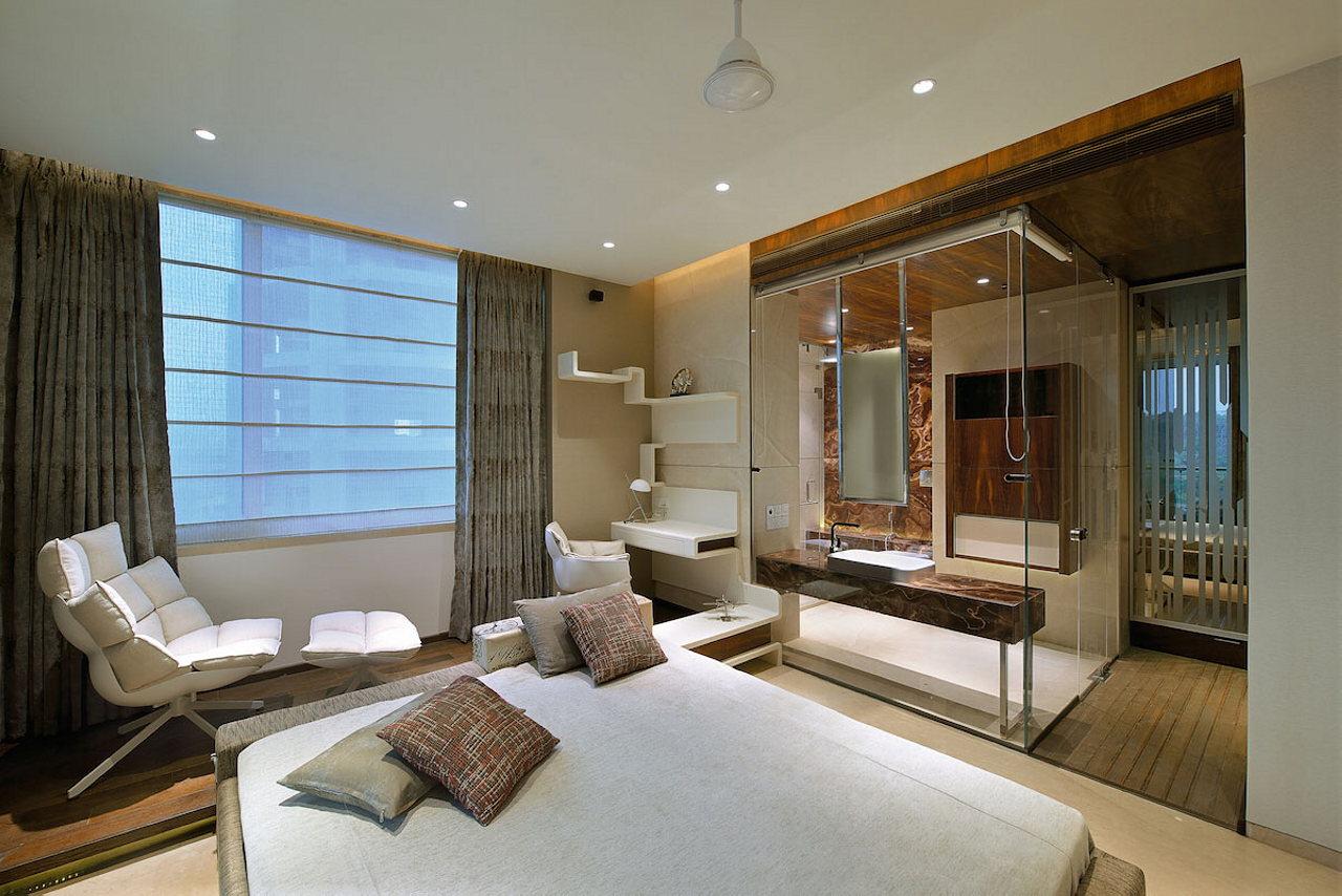 Studio Apartment In Mumbai the two-storey apartment in mumbai: the project of space dynamix