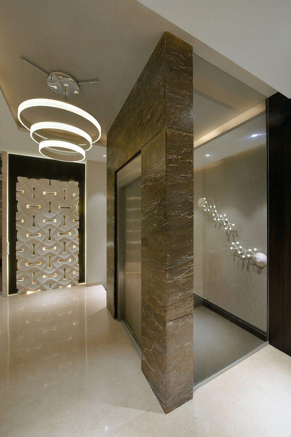 The Two-Storey Apartment In Mumbai The Project Of Space Dynamix Studio 17
