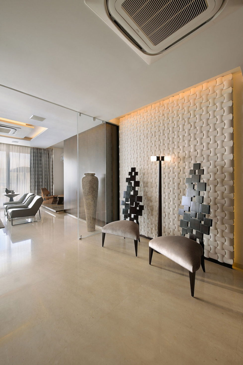 The Two-Storey Apartment In Mumbai The Project Of Space Dynamix Studio 6