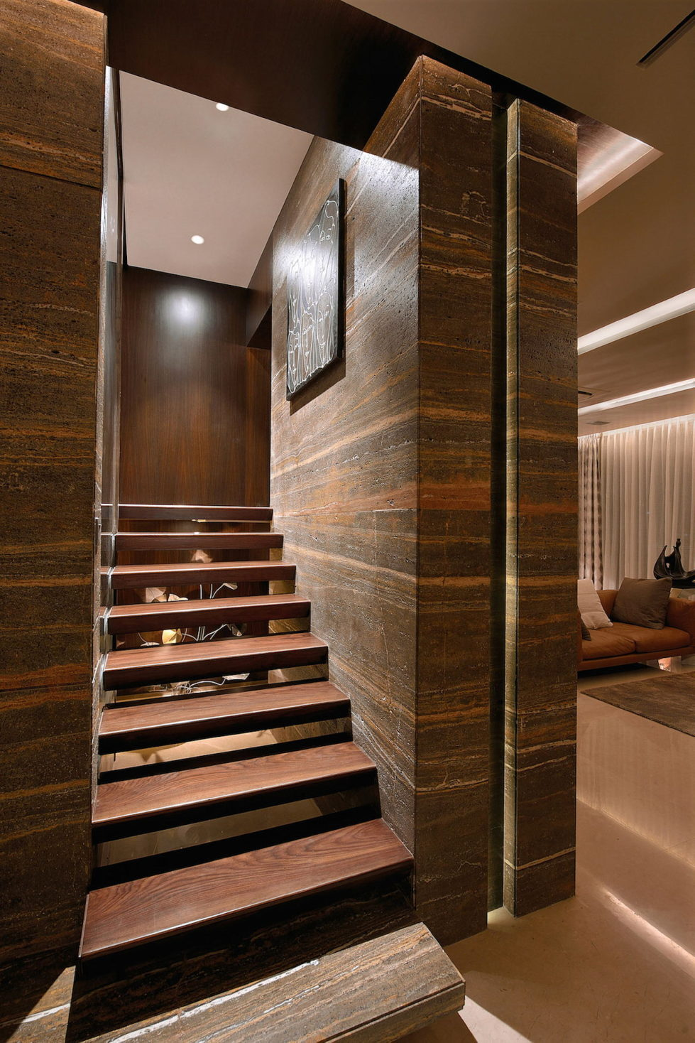 The Two-Storey Apartment In Mumbai The Project Of Space Dynamix Studio 9