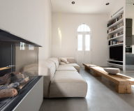 Three-bedroom apartment in Tel Aviv by Chiara Ferrari Studio 1