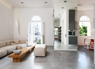 Three-bedroom apartment in Tel Aviv by Chiara Ferrari Studio 11