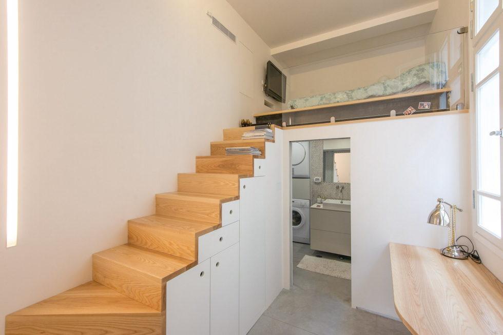 Three-bedroom apartment in Tel Aviv by Chiara Ferrari Studio 6