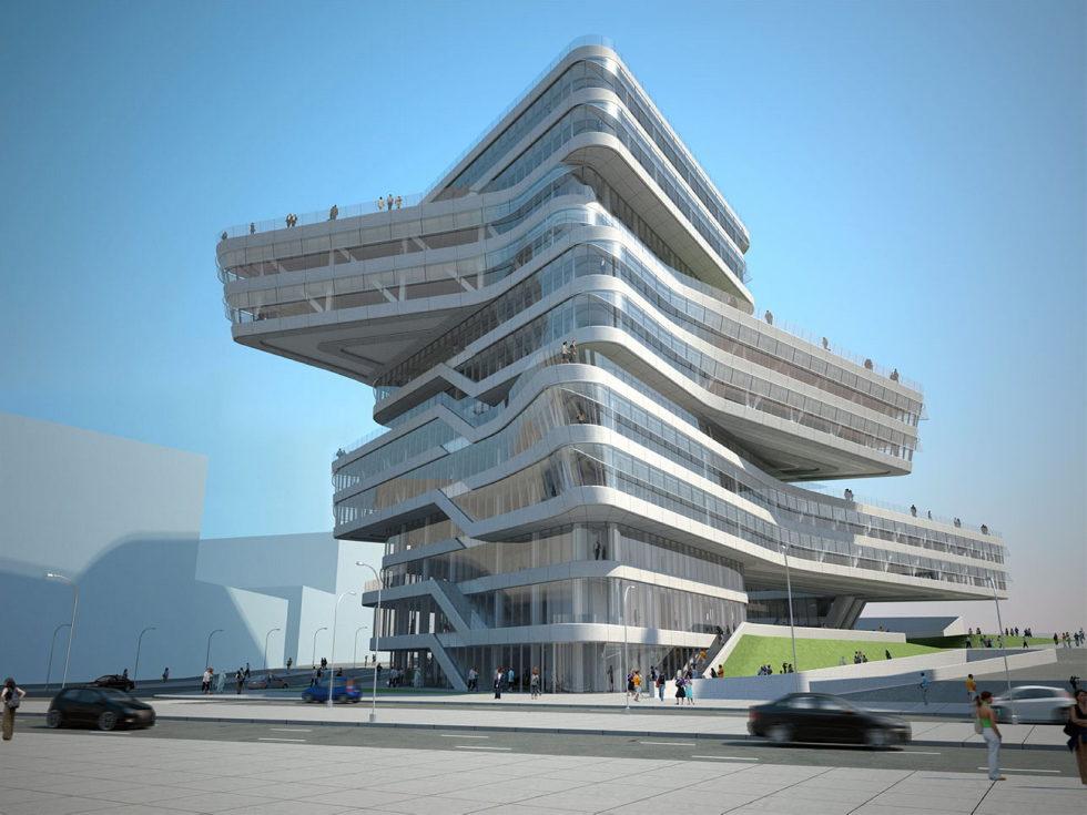 Zaha Hadid Architects Edifici Torre Espiral