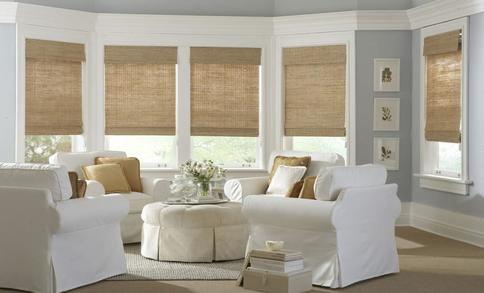 Nice Living Room Curtains U2013 Bamboo Blinds 2