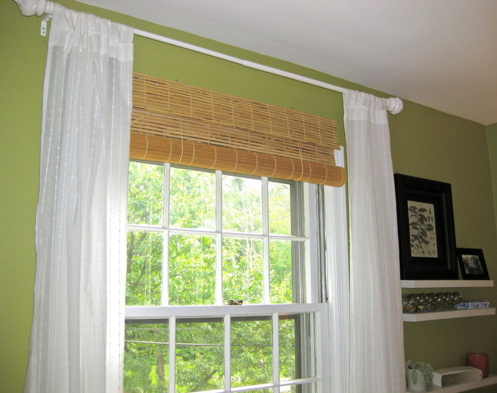 living room curtains – bamboo blinds 4